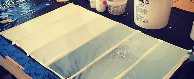 "A peek into studio life. ""What do you do in your studio all day?"" Today I'm playing gel and polymer chemistry with the goal of"