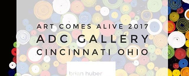 Art on walls: Honored to be juried into this years Art Comes Alive Show in Cincinnati Ohio. This is my 2nd year showing at this multi day art event. The opening night gallery reception, awards ceremony and after party are this Saturday October 14th. @adcfineart and their sister company @blinkartdesigns are to be congratulated for organizing this amazing event and supporting the art community. . . Location: ADC Gallery , 5th floor, 310 Culvert St.,