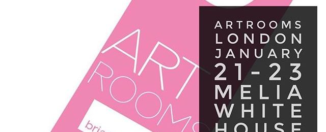ArtRooms London kicks off with a Vip preview Friday night. Show opens Saturday through Monday. It's Londons largest contemporary art fair featuring independent artists. Honored