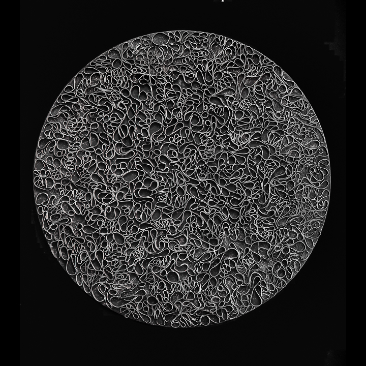 Circle Back Series - Pontalba Lagniappe 48 Round Brian Huber Art