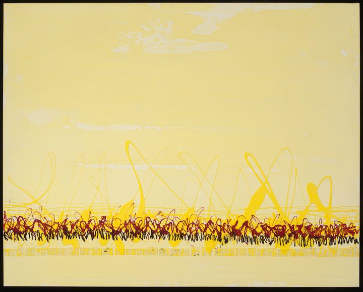 Eighteen Microbes 2010 Acrylic on Canvas 48 x 60 $1400