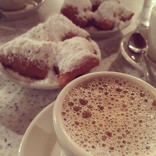 New Orleans Beignets Cafe Au Lait