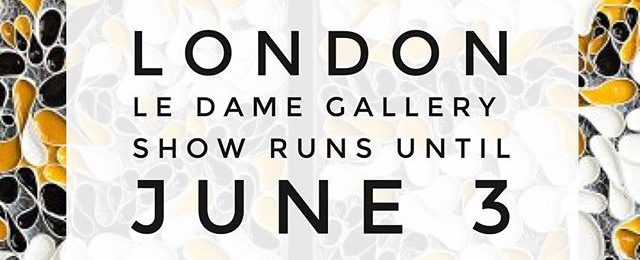 In London? Take a moment to see some art. My 1st London solo art gallery show is still showing at @ledameartgallery Show runs from April 25 – June 3, 2017 LeDameArtGallery.com Le Dame Gallery Meliá White House Albany ST NW1 3UP London . . . .