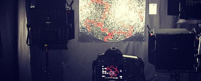In the studio: breaking out the big guns cannon eos 5d mark iii with a serous set of lenses and filters. Need to read the