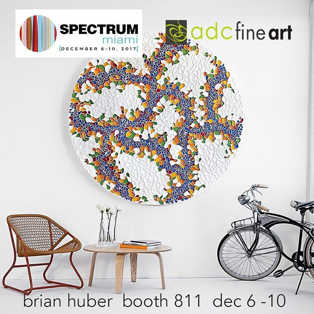My work is being shown at @spectrummiami art fair during this years Miami Art Week. December 6 through 10th. If you are attending and want tickets please send a pm. . . For you art lovers in Miami for @artbasel please visit booth 811 in the @spectrummiami art fair. I'm showing with @adcfineart and @blinkartdesigns . . .