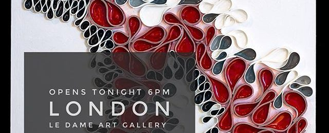 Opening reception tonight at 6pm. Please join me for my 1st London Solo art show. Opening reception is 6pm April 25th 2017. Show runs from April 25 – June 3 , 2017 LeDameArtGallery.com Le Dame Gallery Meliá White House Albany ST NW1 3UP London . . . .
