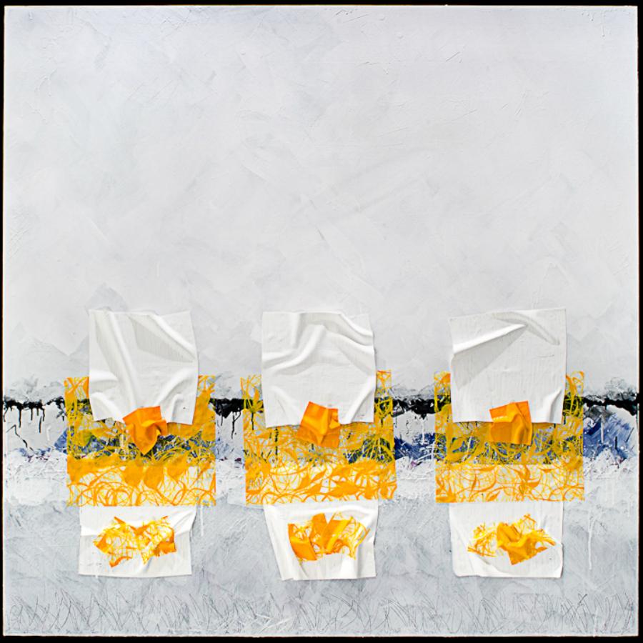 Shredded Cycle Repeats 72 x 72 Acrylic on Canvas 2011 $3200.00