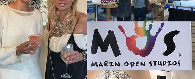 "Thanks for all who attended weekend one of @marinopenstudios if you missed weekend one you have chance to redeem yourself -Open Studios continues next weekend. . Location: I'm in studio 275 at the ICB in Sausalito next Saturday and Sunday is another art filled weekend at the ICB. There are 50 participating @icbartists open for a true art market experience. . . I'll be showing new pieces from my ""Shard Series"" . . Days and"