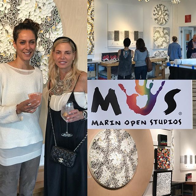 "Thanks for all who attended weekend one of @marinopenstudios if you missed weekend one you have chance to redeem yourself -Open Studios continues next weekend. . Location: I'm in studio 275 at the ICB in Sausalito next Saturday and Sunday is another art filled weekend at the ICB. There are 50 participating @icbartists open for a true art market experience. . . I'll be showing new pieces from my ""Shard Series"" . . Days and times: Open Studios are Saturday/Sunday, May 12+13, 11am - 6pm . . Opening Reception: Friday night May 11, 6 - 9pm Location: ICB, 480 Gate 5 Road, Sausalito Free Admission/Free Parking/Family Friendly/ADA Accessible. . . ."