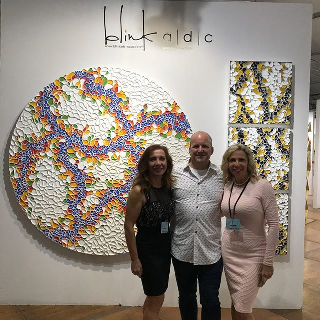 Thanks to all that attend the Vip kickoff for @spectrummiami and @reddotmiami tonight. Honored that my work was featured on the main entry wall into the @adcfineart booth. Thanks to Litsa Spanos and her amazing team for a beautiful show at shown at @spectrummiami @artbasel show runs from December 6th through 10th. Please visit booth 811 in the @spectrummiami art fair. . .