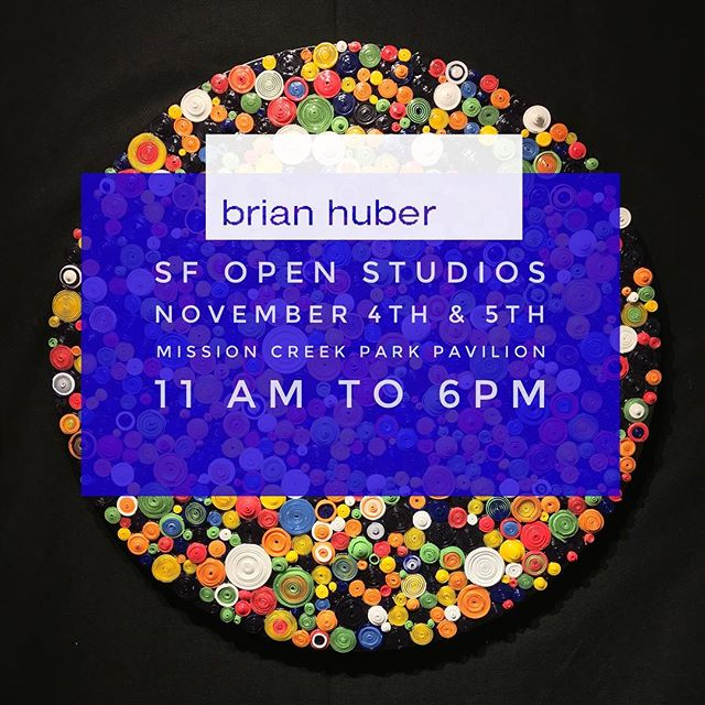 You are invited to visit my open studios show during @artspan in San Francisco. I and 5 other amazing artists will be showing together at the beautiful Mission Bay Park Pavilion in the SOMA area. Dates: Saturday November 4 and Sunday November 5th 2017 11:00 am to 6:00 pm Mission Bay Park Pavilion 290 Channel Street San Francisco CA 94158 Get out and see some art. Lots of parking and 6 amazing artists in one building. ARTISTS: - Fernando Reyes, freyesart.com - James Banville, instagram.com/banvilled - Natalia Lvova, lvova.pro - Brian Huber, brianhuberart.com - Allison Snopek, allisonsnopek.com - Andrea Fono, fonoart.com