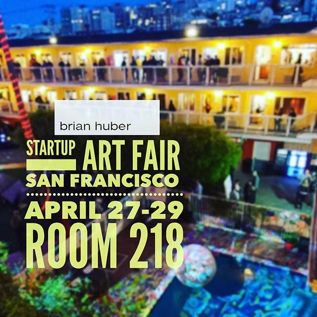 You are invited. I will be showing in room 218 this weekend at StARTup Art Fair @startupartfair Check out 60 artists plus enjoy artist talks and interactive events. This annual art fair is part of an art filled weekend in San Francisco including Art Market @artmarketproductions at nearby Fort Mason and If So What? @isw_ifsowhat at Palace of Fine Arts. . . . Show opens Fri, Apr 27, 2018, 2:00 PM through Sun, Apr 29, 2018, 7:00 PM Opening party Friday 27 from 7 to 10pm. . Location : Hotel del Sol 3100 Webster St San Francico Ca Room 218 in the Marina District . .