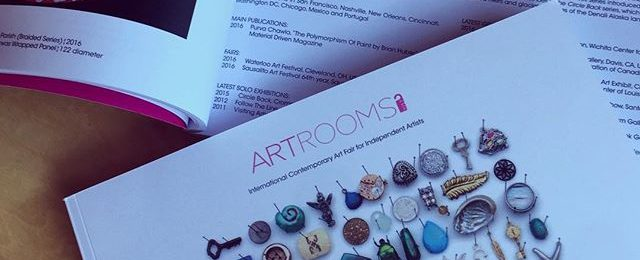 Artrooms art fair in London produced a beautiful show catalog. Received a couple of copies today and always pleased to see my work in the company of so many amazing artists. @artroomslondon was a great show and I'm looking forward to be back for my second London show soon.