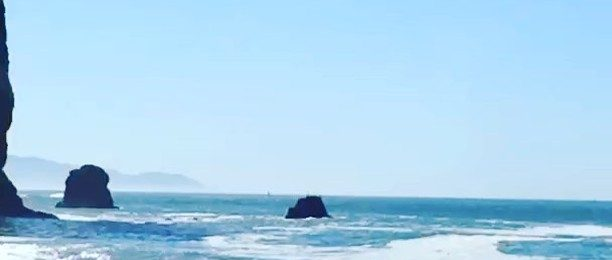 Not in the studio: if you have to skip time in the studio – this place is a good as any! One of the many reasons I live in Northern California. Less than a mile from my studio. Tennessee Beach in the National park. Quick hike and you are at this amazing spot. Scroll for more pics.
