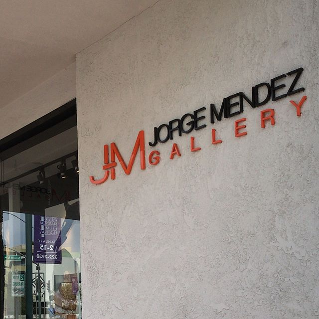 Today in art land: Dropping off new paintings at @jorgemendezgallery in in preparation for @modernism_week and @artpalmsprings Don't miss the best week of art and architecture in Palm Springs. New pieces from my Shard and Circumference series will be available at the gallery. Check out Jorge Mendez gallery in heart ️ of the Palm Springs design district. Modernism Week runs from Feb 15th to 25th. Art Palm Springs runs from Feb 16th through 19th. . . .