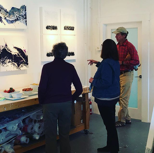 Beautiful day to be out looking at art. My studio is open today 11-6 and tomorrow for Mother's Day. Bring mom for an art filled day exploring at the ICB @icbartists in Sausalito. @marinopenstudios is the not to miss art event in Marin Ca. . .