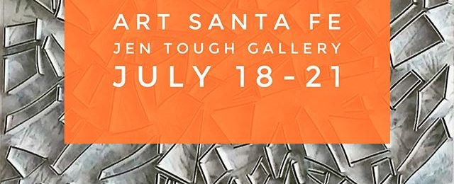 Look for my newest work in Santa Fe New Mexico at Art Santa Fe