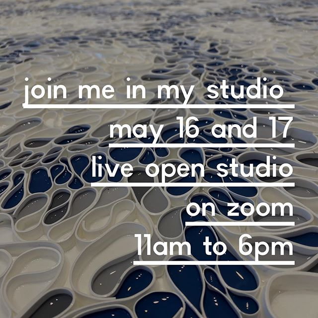 Please join me for a zoom in virtual open studio Saturday May 16th and Sunday May 17th. 11 am to 6pm (PST)  Lots to see - Check our my new paintings, I'll be showing a demo of my process or buy a painting. Plus tour the studio or just stop in to say hello. Can't wait to see my friends from all over.  Please DM me for the zoom meeting details.  Thanks for supporting artists and helping keep our art practices going. . . .