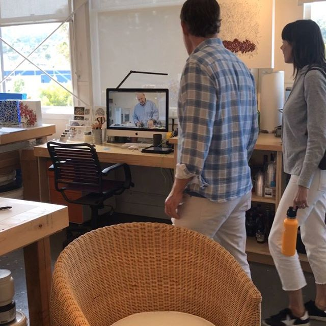 Quick video recap of weekend one during @marinopenstudios  Open studios continues next Saturday and Sunday May 11th and 12th (Mother's Day) from 11am to 6pm. . . - . Well worth a visit with many  @icbartists artists showing in one amazing building. . . . . .