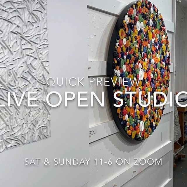 Ready set go - it's happening this weekend - Zoom into my art studio for a tour live virtual open studio . When? Saturday May 16th and Sunday May 17th. 11am to 6pm (PST)  Lots to see - Check out my new paintings and favorites too. I'll be showing a demo of my process. Better yet buy a painting for that perfect spot in your home. 2pm each day artist @michaelcutlip and I will be chatting about our recent collaboration. Plus tour the studio or just stop in to say hello. .  Please DM or text me at 415-515-2006 for the Zoom meeting details or follow link in my bio. . . .