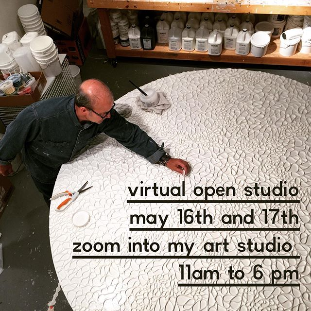Save the date- Please join me for a zoom in virtual open studio Saturday May 16th and Sunday May 17th. 11 am to 6pm (PST)  Lots to see - Check our my new paintings, I'll be showing a demo of my process or buy a painting. Plus tour the studio or just stop in to say hello. Can't wait to see my friends from all over.  Please DM me for the zoom meeting details.  Thanks for supporting artists and helping keep our art practices going. . . .
