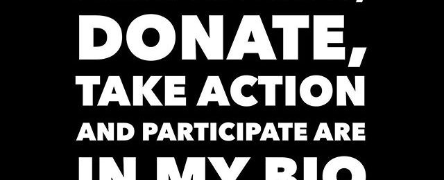 What can you do today? Links to listen, donate, take action and participate are in my bio or go to: