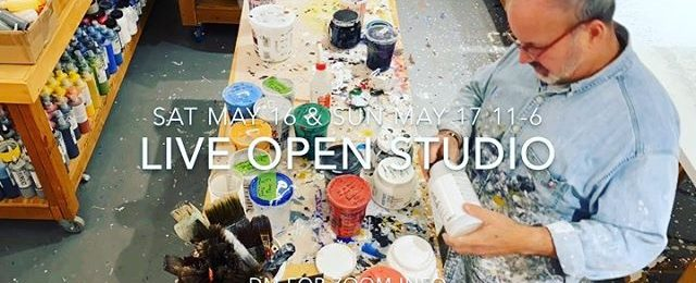 Zoom into my art studio this weekend – Please join me for a live Zoom virtual open studio Saturday M