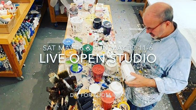 Zoom into my art studio this weekend - Please join me for a live Zoom virtual open studio Saturday May 16th and Sunday May 17th. 11am to 6pm (PST)  Lots to see - Check out my new paintings and favorites too. I'll be showing a demo of my process. Better yet buy a painting for that perfect spot in your  home. Plus tour the studio or just stop in to say hello. Can't wait to see my art friends from all over. . .  Please DM or text me at 415-515-2006 for the zoom meeting details.  Thanks for supporting artists and helping keep our art practices going. . . .